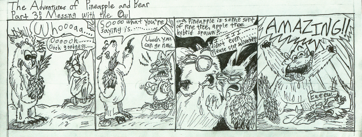 Pineapple and Bear Part 3