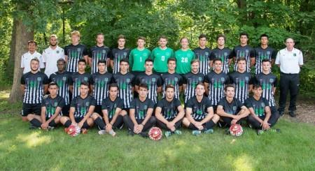 Men's soccer team photo