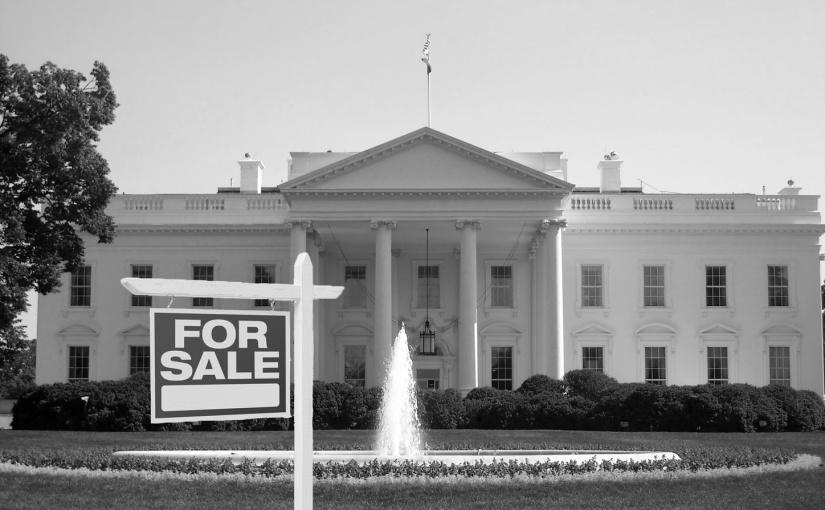 Trump puts white house on themarket