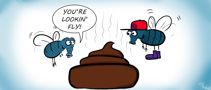 lookin' fly cartoon