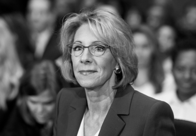 Secretary of Education nominee Betsy DeVos Confirmation Hearing