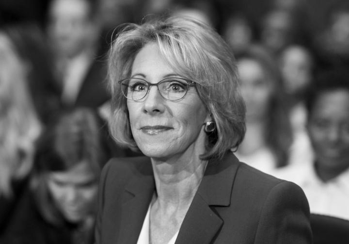 Secretary of Education nominee Betsy DeVos Confirmation Hearing
