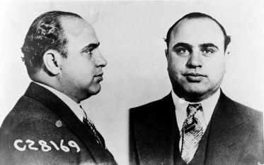 Al Capone Mugshot - public domain
