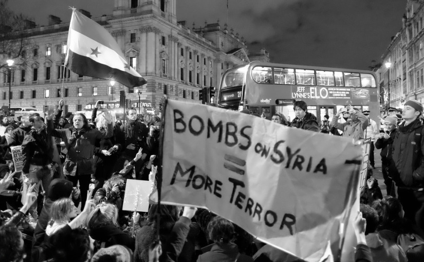 Response to the bombing of Syriancivilians